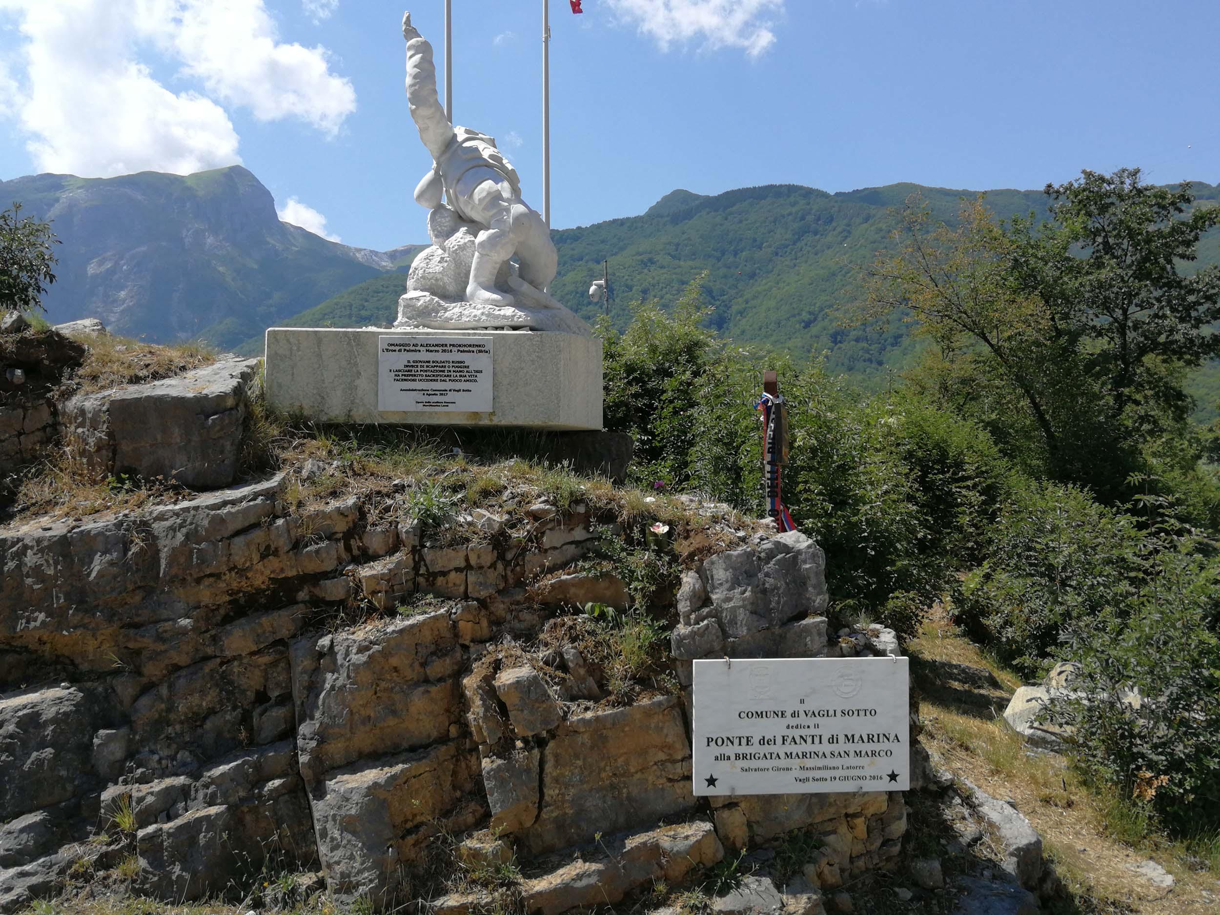 Statue del Parco Onore e Disonore - Vagli Park
